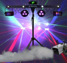 JB Systems Party bar DJ led effect all in one huren