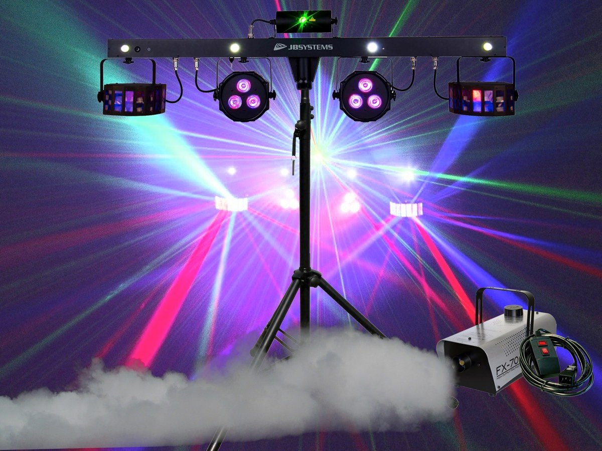 JB Systems Party bar multi effect set led
